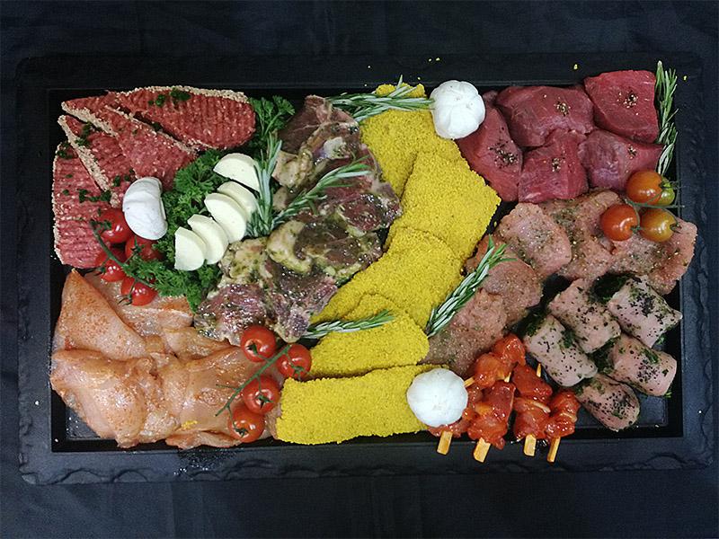 Gourmet vleesgegroet